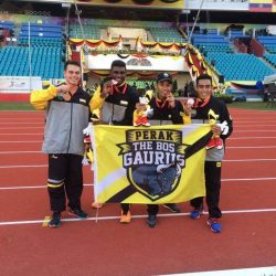 Team Perak wins bronze in 100x4 relay