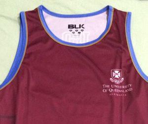 UQ Athletics Club Singlet
