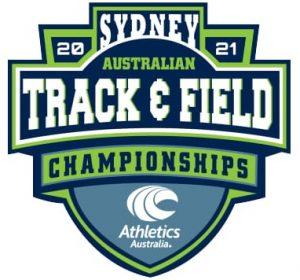 Australian Track and Field Championship 2021 logo
